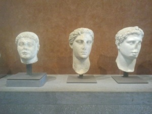 Louvre bustes gréco romains