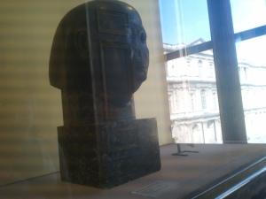 Louvre buste égyptien
