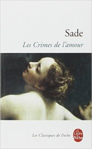 Les crimes de l'amour Sade