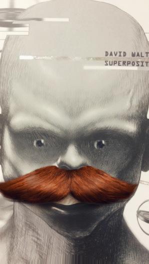 Superposition de David Walton moustache